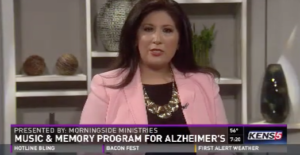 Morningside Ministries Music & Memory Program Featured on Kens 5