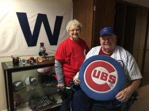 "Manor Resident Has ""Waited All His Life"" to See the Chicago Cubs Break World Series Drought"