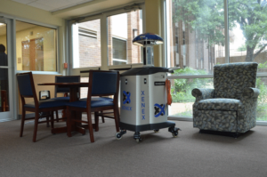 In the News: Xenex Germ-Zapping Robots at Morningside Ministries